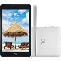 "Tablet Dl C17 - Hawar Tela 7"" Quad Core 8gb Wifi - Android - Branco"