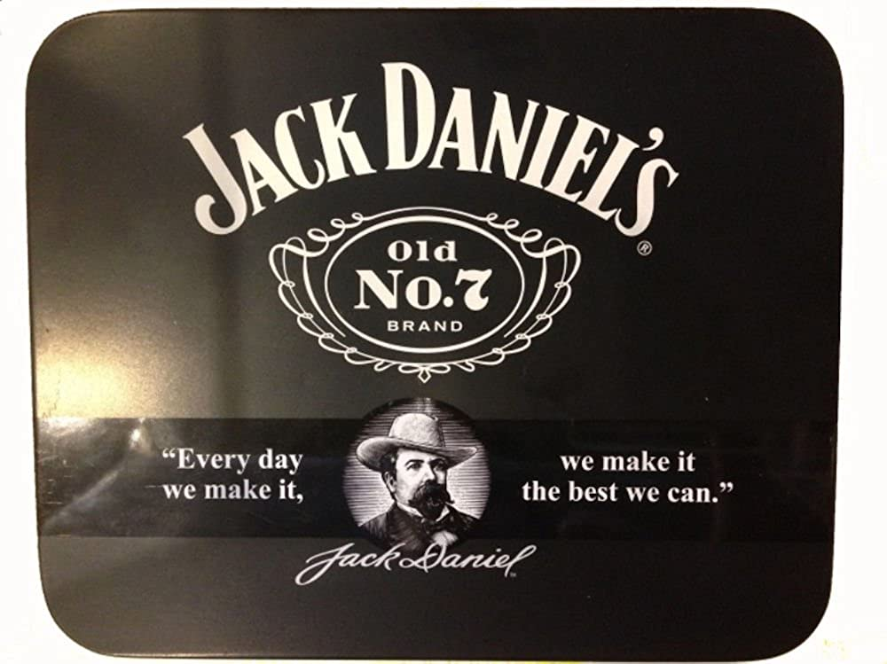JACK DANIELS BELT BUCKLE WITH COLLECTORS TIN
