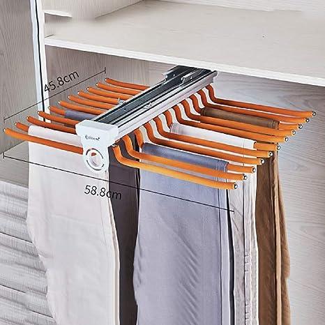 LF-YGJ Perchero extraíble de Aluminio para Pantalones ...