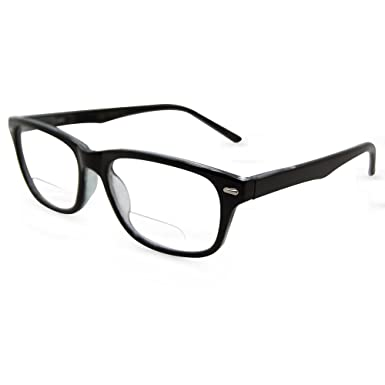 44b629bdf9a Amazon.com  In Style Eyes Seymore Retro BiFocal Reading Glasses ...