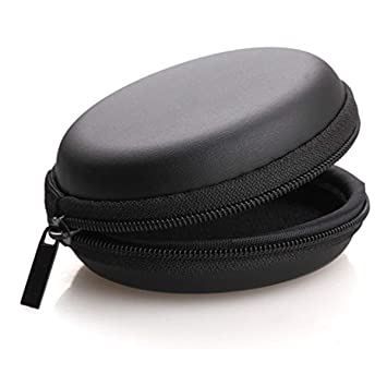 Mini Portable Leather Coin Headphone Cash Container Headset Storage Bag Earphone