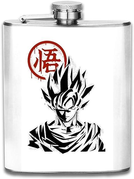 Goku Graffiti Dragon Ball Z - Petaca de bolsillo con diseño ...