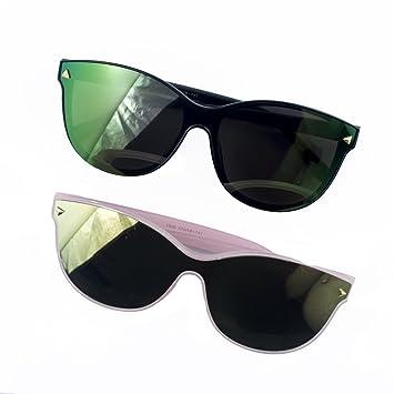 c21141e5523ce HAND® 2 Paires de Protection 100% UV400 Lunettes élégant de lentille Mono -  Frame