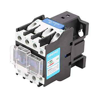 220v 32a electric ac contactor cjx2-3210 high sensitivity plate front wiring  motor contactors: amazon com: industrial & scientific