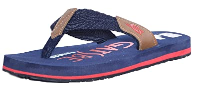 05df5b91e870 GATSBE Men Blue Nylon Walking Slippers-7  Buy Online at Low Prices in India  - Amazon.in