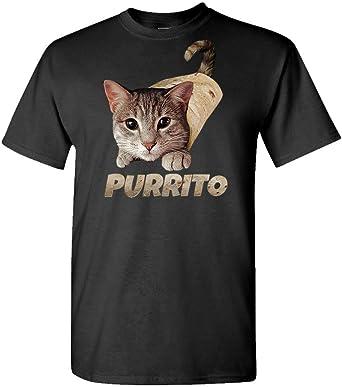 Men/'s The Wild Cat Funny T-Shirt