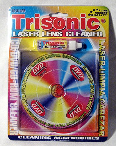 Laser Lens Cleaner New Game Player Xbox Cd-Rom Dvd Ps2 Cleaning Liquid Included (Laser Lens Cleaner Kit)