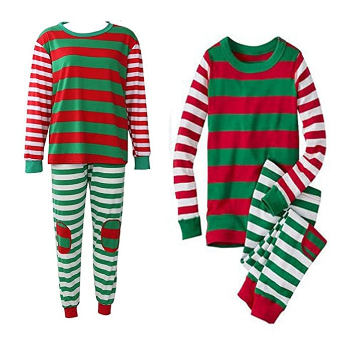 christmas xmas nightwearsunfei toddler infant baby girl boydadmom family  matching 03db53dd6