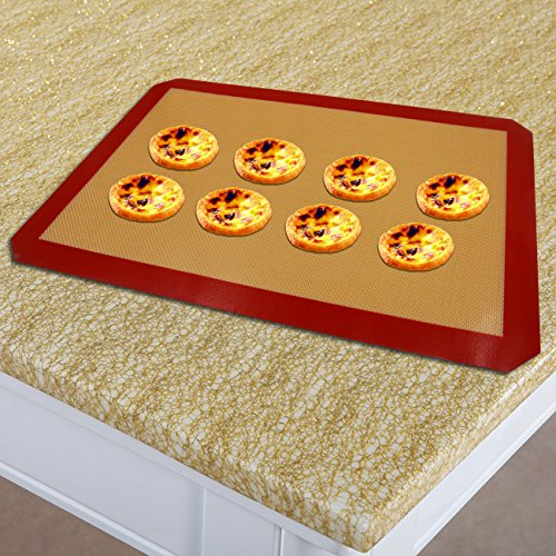 Silicone Baking Mat Set Of 2 Half Sheets Non Stick