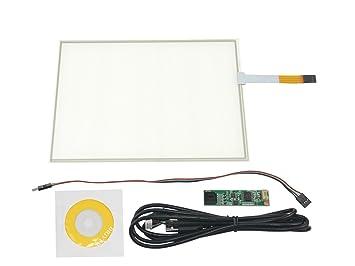 NJYTouch 10,4 Zoll 4 Draht Resistive Touch Panel: Amazon.de: Elektronik