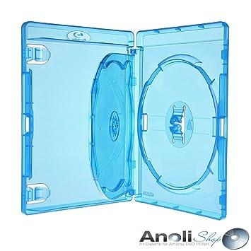 Amaray Blu Ray con baldas para 3 Disc, DVD, Blu Ray 6 fundas ...
