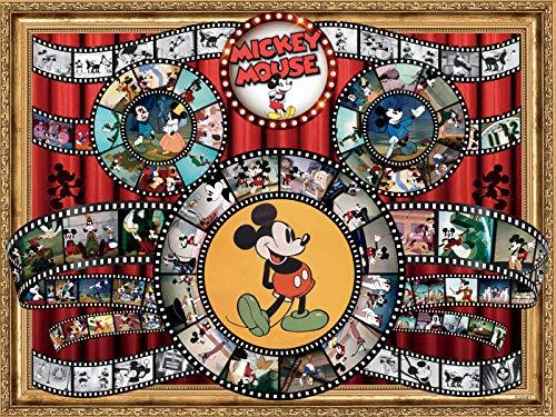 Disney - Mickey Mouse Movie Reel Puzzle - 1500 Pieces -