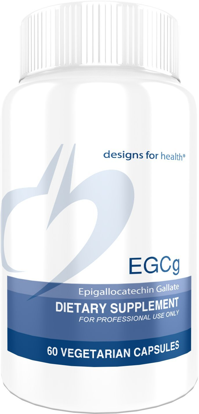 Designs for Health EGCg - Decaffeinated Green Tea Extract (500 Milligrams) + Polyphenols (60 Capsules)