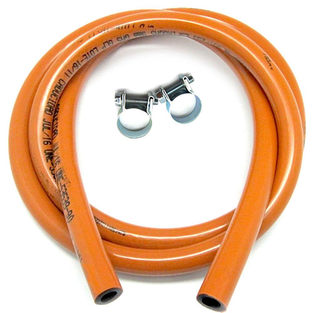 ESPIROGAS UNE 53539/90 - Manguera flexible butano KIT 1,5 m: Amazon.es: Bricolaje y herramientas