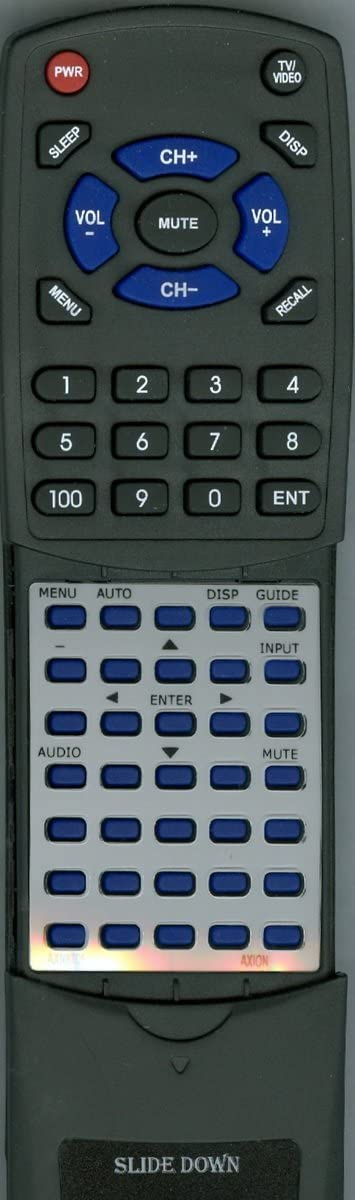 AXN8905 Replacement Remote Control for AXION AXN8701