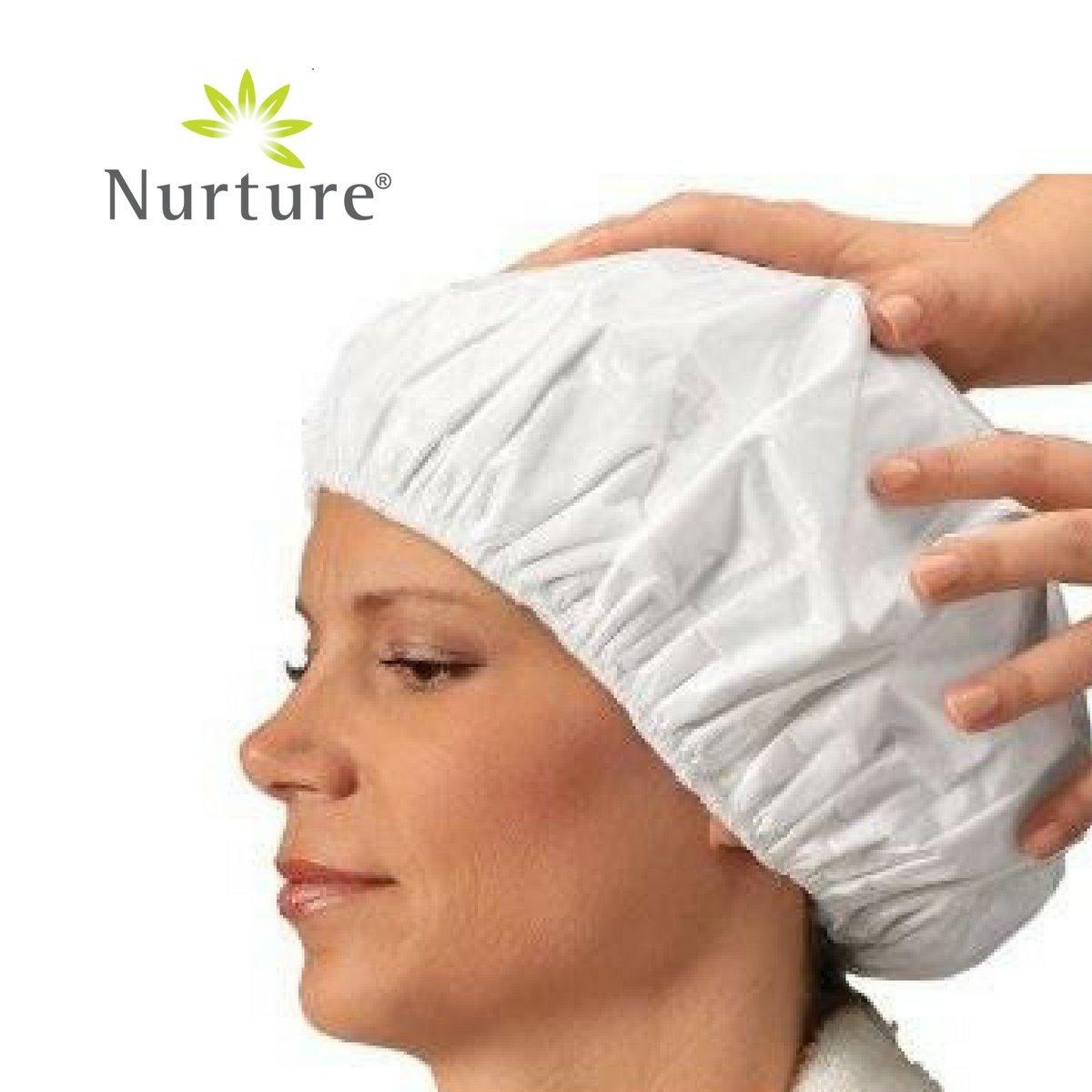 No Rinse Shampoo Cap by Nurture (24 Pack) | Rinse Free Shower Cap That Shampoos & Conditions - PH Balanced & Hypoallergenic by Nurture (Image #4)