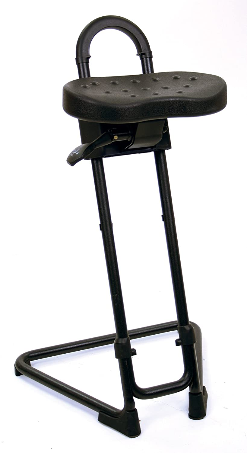 Lyon NF2092N Industrial Sit Stand Stool, 22-3 4 – 32-3 4 Height