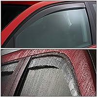 For Ford Ranger//Mazda B-Cab 2pcs In-Channel Window Visor Deflector Rain Guard