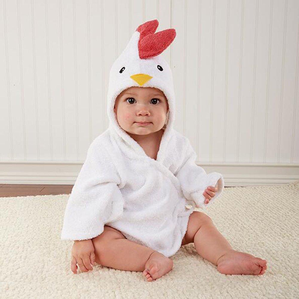 ANDAY Baby Girls /& Boys Hooded Animal Bathrobe Robes Bath Towel Super Soft