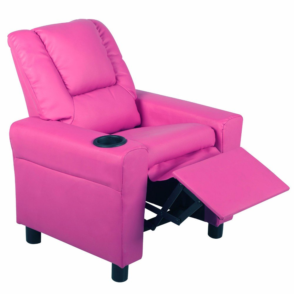 Kids Recliner Armchair Children's Furniture Sofa Seat Couch Chair w/Cup Holder not applicable
