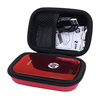 Hard Case for HP Sprocket Portable Photo Printer fits Zink Sticker Photo Paper -Aenllosi