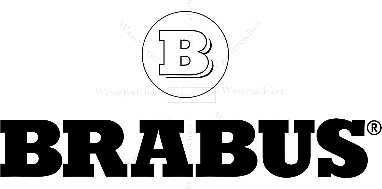 15cm Brabus AD062-Logo UV/&Waschanlagenfest Auto-Sticker Profi Qualit/ät bunt Digital-Schnitt! 2St/ück Aufkleber-Folie Wetterfest Made IN Germany kompatibel f/ür
