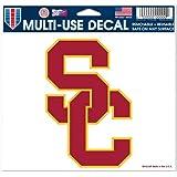 "USC Trojans Removable 5""x6"" Car Decal"