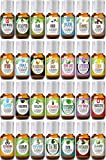 Ultimate Family Doctor Set (First Aid) 100% Pure, Best Therapeutic Grade Essential Oil Kit- 28/10mL