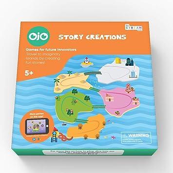 OjO Story Creations Juego de Mesa de Cuentos (5 años más): Amazon.es: Juguetes y juegos
