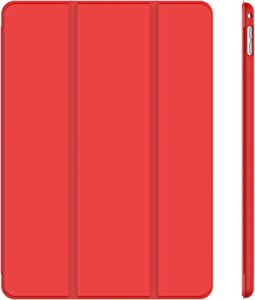 JETech Case for iPad Mini 4, Smart Cover with Auto Sleep/Wake, Red