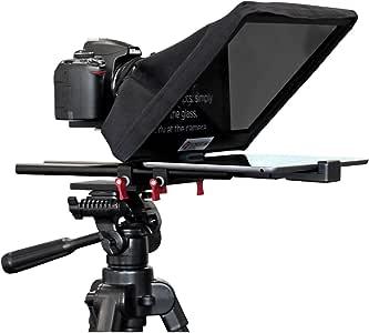 ForestAV Draagbare en Lichtgewicht Teleprompter Kit voor Tabletten en DSLR/Mobiles, 15mm Rods