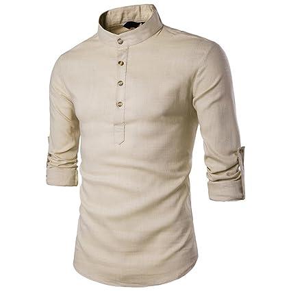 Sonnena Hombre Camiseta Blusa de Hombre Moda Verano Casual Traje Manga Corta, Camisa de Moda