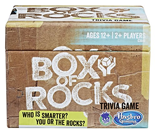 Hasbro Games Box of Rocks Party Board Game (Amazon Exclusive)