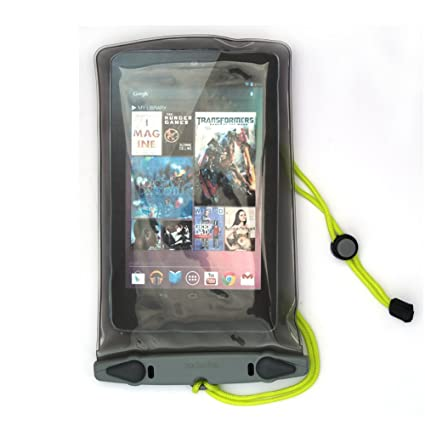 detailed look a7242 5c56c Aquapac Waterproof Case compatible with Apple iPad mini and Amazon Kindle  (old version, no camera window - 658)