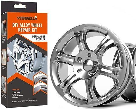 Car Rim Repair >> Visbella Half Hour Quick Fix Diy Alloy Wheel Repair Adhesive Kit Rim Surface Damage Car Auto Rim Dent Scratch Care Paper Packaging