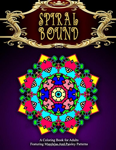 SPIRAL BOUND MANDALA COLORING BOOK - Vol.1: women coloring books for adults (Volume 1)