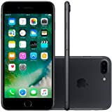 iPhone 7 Plus Apple com Tela de 5.5, 4G, Câmera 12MP + Frontal 7MP e iOS 10 - 32 GB - Preto Matte