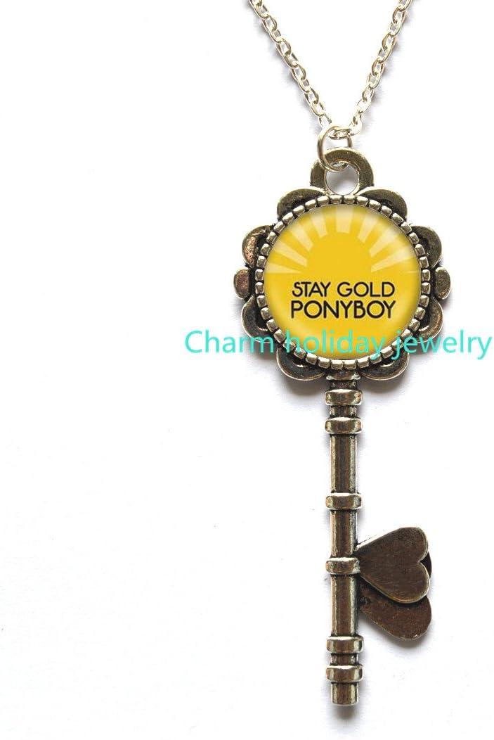 com stay gold ponyboy key necklace stay gold jewelry the
