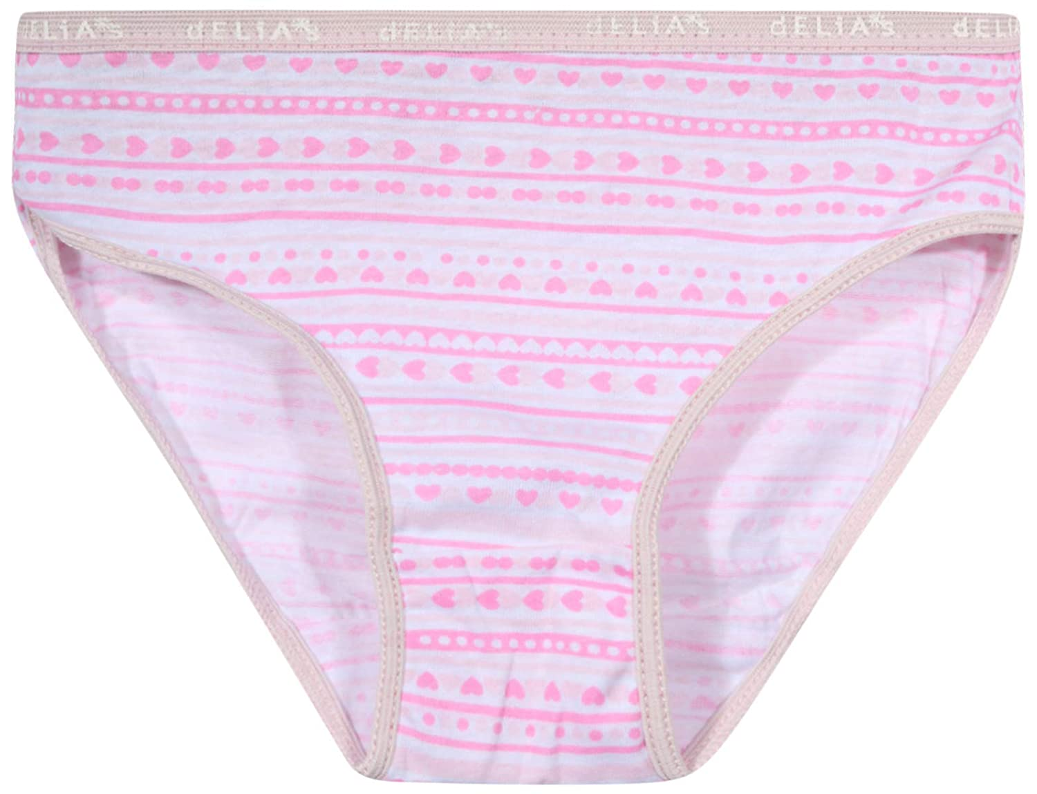 dELiAs Girls Cotton Bikini Underwear Multipack 20 Pack