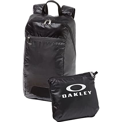 eb94ff953f37 Oakley Packable Backpack, Blackout, One Size