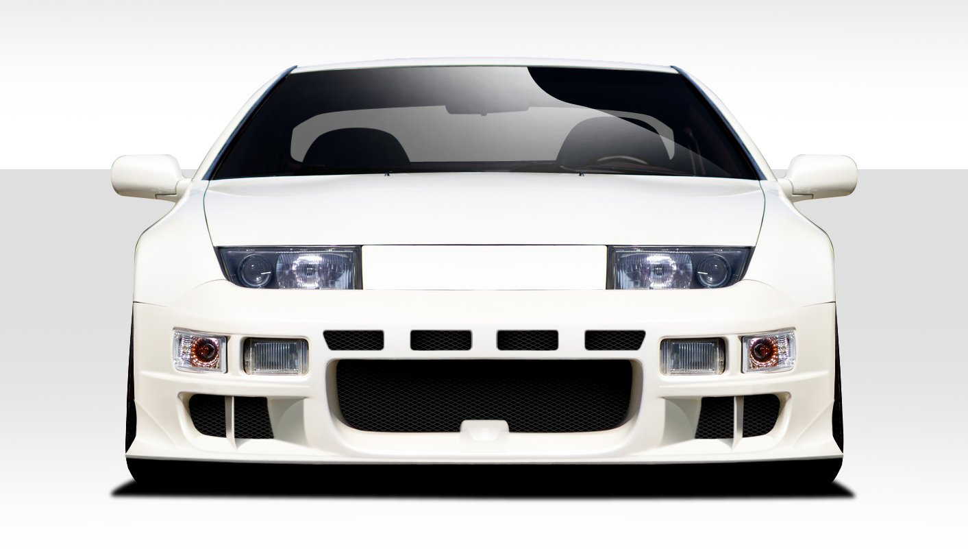 Extreme Dimensions Duraflex Replacement for 1990-1996 Nissan 300ZX Z32 Bravo Front Bumper Cover - 1 Piece