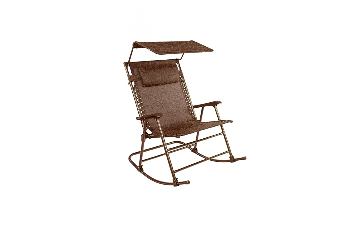 Excellent Amazon Com Patio Bliss Deluxe Rocking Chair With Canopy Squirreltailoven Fun Painted Chair Ideas Images Squirreltailovenorg