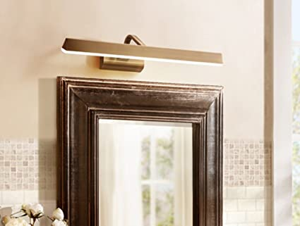 LEITSA- American Style Copper Imitation Kupfer Spiegel LED ...