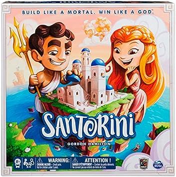 Juegos de Mesa - Santorini (Bizak 61923430): Amazon.es: Juguetes y juegos