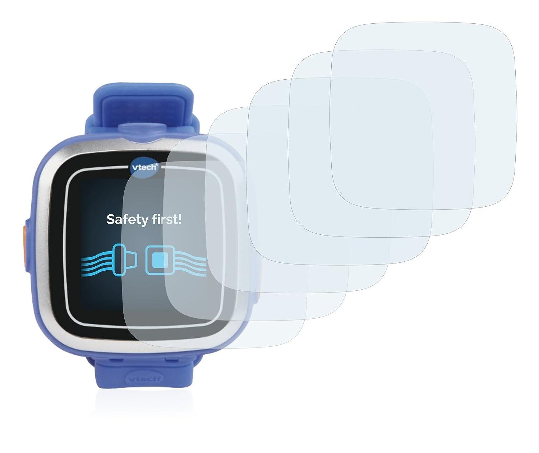 Savvies Protector de Pantalla compatible con Vtech Kidizoom Smart Watch 1 [6 Unidades] - Transparente