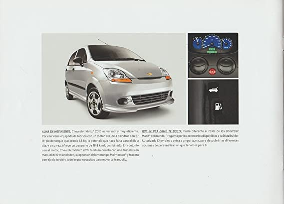 Amazon.com : 2015 CHEVROLET MATIZ LS SEDAN PRESTIGE COLOR SALES ...