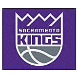 FANMATS 19474 NBA - Sacramento Kings Tailgater Rug , Team Color, 59.5''x71''