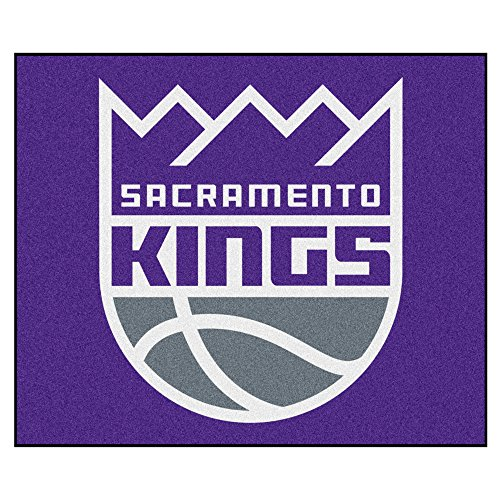FANMATS 19474 NBA - Sacramento Kings Tailgater Rug , Team Color, 59.5''x71'' by Fanmats