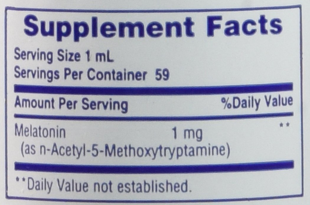 Amazon.com: Physiologics - Liquid Melatonin (1 mg per ml)  2 oz liquid: Health & Personal Care