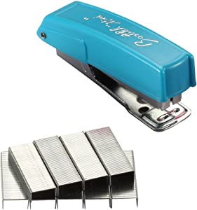 Bostitch Office Mini 10 Stapler, Assorted Colors (10K),Black, Pink, Blue, Red